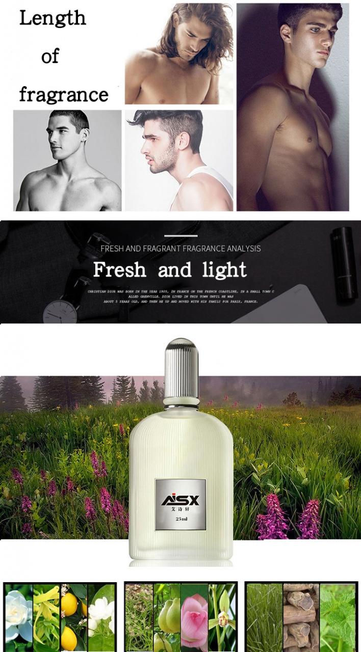 4-piece perfume set lasting light fragrance fresh men's and women's cosmetics perfume Men's suit 1