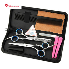 Hairdressing Salon Scissors Flat Cut Liu Hai Shearing Thin Shear Family Hairdressing Kit 1 6.0(Inch)