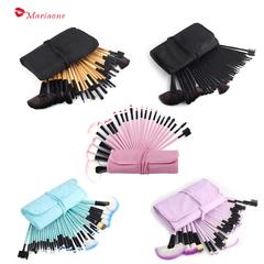 32 makeup brush set full set of beauty makeup tools loose powder makeup brush pink