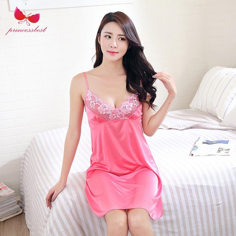 1ceb325128 Fashion silk pajamas ladies dream lace pajamas silk comfortable breathable  sexy red Watermelon red l  Product No  2208233. Item specifics  Seller  SKU PR0015 ...