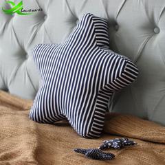 Handmade style cute handmade canvas small fish starfish home fabric cushion gift starfish Medium