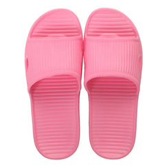 Male and Female Indoor Slip-proof Home Slippers with Thick Bottom and Soft Bottom red 36-37 yards(23.5cm) EVA