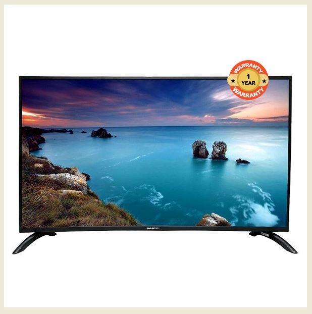 """Nasco E40D9200 - 40"""" - Digital DVB-T2/S2 - HD LED TV - Black + Power regulator & wall bracket Black 40"""
