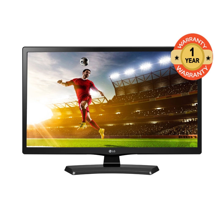 "LG 24MT48VF 24"" Digital TV black 24"