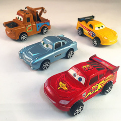 Factory direct sales children's intelligent toy cars cartoon cars hybrid cars Chenghai toys 4 paragraphs 8