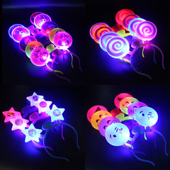 Puppy smiling face, luminous hair band multiple colors 15
