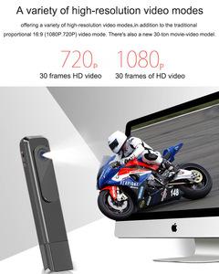 HD digital intelligent mini recording pen USB professional recording video pen