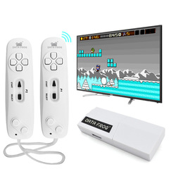 DATA FROG USB wireless hand-held video game console Y2 classic 8-bit mini game controller white conventional