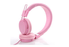 Bluetooth Headset Home Fitness Mobile Phone Head-mounted Sports Running Outdoors pink