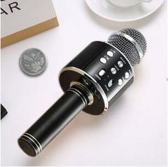 Microphone Bluetooth Audio Singing Bar Microphone Wireless Home Phone Computer Singing Maba Artifact black conventional conventional