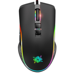 Bolton M710 e-sports games wired mouse V9 mixed photorespiration RGB computer notebook black standard
