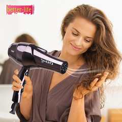 High-power hair salon hotel special hair dryer with scented blue negative ion hair dryer black a choice