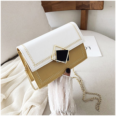 The new 2019 han edition chain joker single shoulder bag fashion worn small package yellow