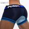Mesh boxer men's pure cotton boxer pants sapphire blue M