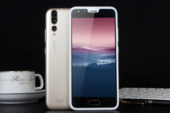 5 inch android phones Dual standby SIM 1G+8G smartphone gold