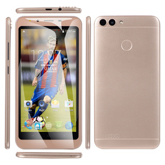 New phone 5inch 1G+8G 3G network unlocking  Dual SIM smartphone gold