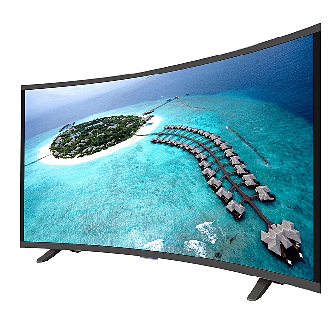 "Vision Plus VP8843C 43"" FHD SMART CURVED, Android LED TV Black 43''"
