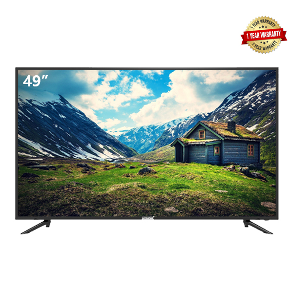 VISION PLUS 49 Inch Smart 4K UHD TV Android Television black 49''