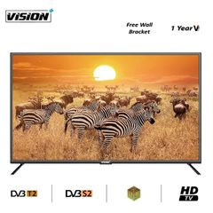 Vision Plus VP8832DB - 32 inch Digital tv HD LED TV & FREE Wall-mount Bracket black 32''