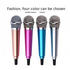 Microphone iPhone Smartphone Video Microphone Android Camera DSLR DV Nikon Canon DV silver 10cm*2cm*2cm
