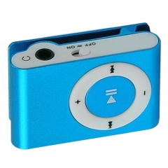MP3 players mini clip MP3 players Waterproof Sport MP3 music player Walkman lettore MP3 blue