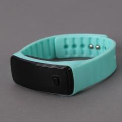 Sport Bracelet LED Watch Sport Watch Fashion Digital Watch Date Time Wristwatch Colorful blue normal