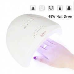 Sunone 48W Professional UV/LED Lamp Nail Dryer Manicure Tool Beauty Nail Gel Lamp For Gel Nails white/3pin plug