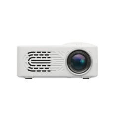 HD Multimedia Portable LED Projector Home Theater HDMI VGA AV USB SD Lamp Remote Control Projector white normal
