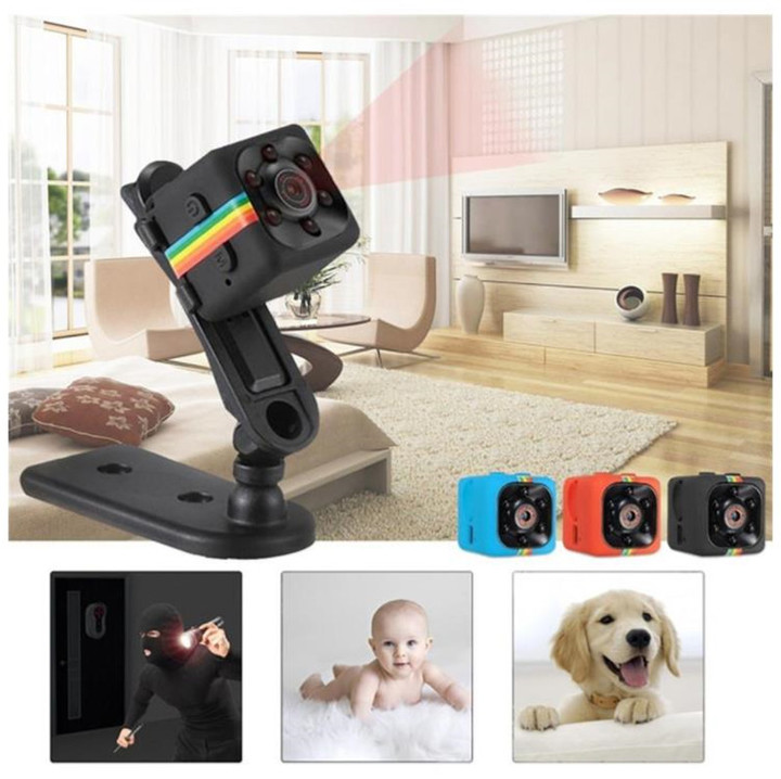 Mini HD 1080P DVR Camera Full HD Infrared Night Vision Camera Recorder blue normal