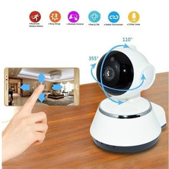 HD Camera WiFi Smart Home Wireless Surveillance Camera Security Camera white normal
