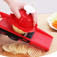 Peeler Grater Vegetables Cutter Tools with Carrot Grater Onion Vegetable Slicer Kitchen Accessories red normal