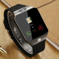 Smart Watch WristWatch Support With Camera Bluetooth SIM TF Card Smartwatch For Ios Android Phones black G52