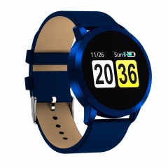 CW5 Color Touch Screen Smartwatch Heart Rate Monitor Smart Watch Sport Fitness Men Women Wearable blue CW5