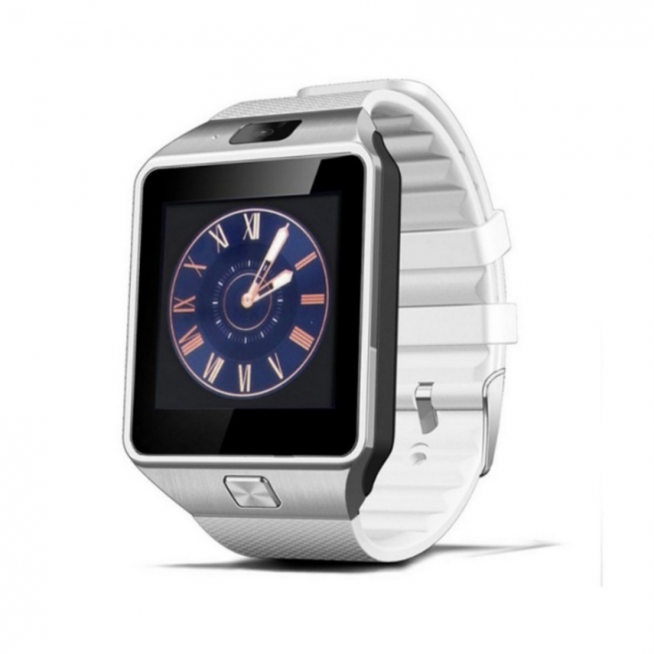 Smart Watch WristWatch Support With Camera Bluetooth SIM TF Card Smartwatch For Ios Android Phones white FJKG1