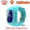 Anti Lost Q50 OLED Child GPS Tracker SOS Smart Monitoring Positioning Phone Kids GPS Baby Watch blue SOS2