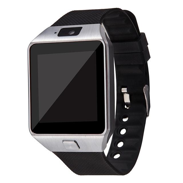 Bluetooth Smart Watch DZ09 Android Phone TF Sim Card Camera Men Women Sport Wristwatch black Without Retail box