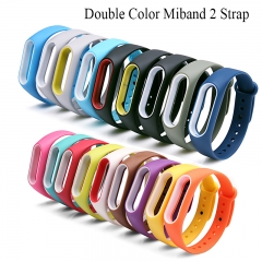 mi band 2 accessories pulseira miband 2 strap replacement silicone wriststrap for xiaomi mi2 Black with Yellow replacement silicone wriststrap