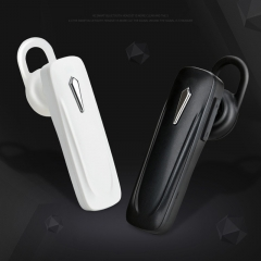 Stereo wireless headset Wireless Bluetooth Headset Business Headphone Hands Free Microphone Earphone white