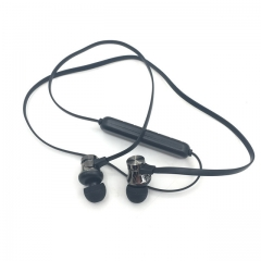 Motion wireless bluetooth headsets anti-perspiration magnetic headsets stereo headphones Type 2 black