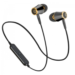 Wireless Bluetooth Headphones Super Bass Earphones Sports Headset Sweatproof Cordless Earbuds black