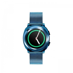 Smart watch waterproof bluetooth phone swimming sleep heart rate monitor watch exercise sedentary blue L2
