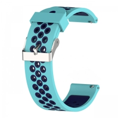The silicone wearable strap youth smart strap youth sports bracelet strap blue BIT