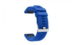 Soft Silicone Replacement wristband Watch Band bracelet strap For Smart Watch wrist band strap blue Soft