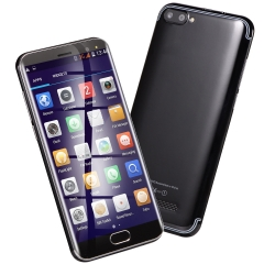 R11 5.0'' Large Screen Moblie Phone Android Dual SIM 2.0MP Cellphone 4GB ROM Smart Phone black