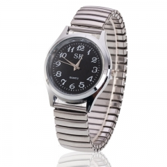 Digital watch spring with the old man watch couple little pure and fresh and digital watches Black men one size