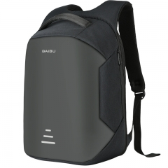 Men 15.6 Laptop Backpack Anti Theft Backpack Usb Charging School Notebook Bag Oxford Travel Backpack Black One Size