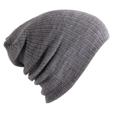 33ecfe046f8 Hat Female Unisex Cotton Blends Solid Warm Soft HIP HOP Knitted Hats Men Winter  Caps Women s gray  Product No  2546545. Item specifics  Brand