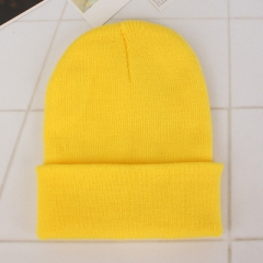 Winter Hats for Woman New Beanies Knitted Solid Cute Hat Girls Autumn  Caps Warmer Ladies Casual Cap yellow