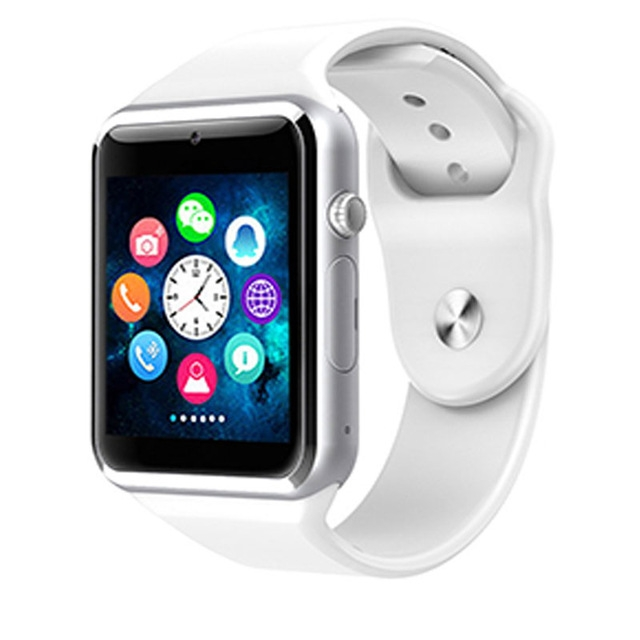 Smart Watch For Children Kids Baby Watch Phone 2G Sim Card Dail Call Touch Screen Waterproof white A1