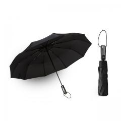 Wind Resistant Folding Automatic Umbrella Women Auto Luxury Big Windproof Umbrellas Rain For Men black